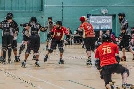 Lotus Photography Bournemouth Dorset Knobs Roller Derby Sports Phtoography 473