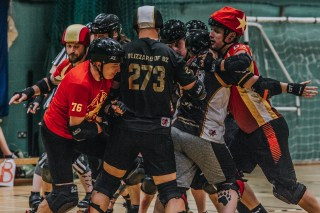 Lotus Photography Bournemouth Dorset Knobs Roller Derby Sports Phtoography 493