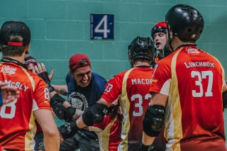 Lotus Photography Bournemouth Dorset Knobs Roller Derby Sports Phtoography 523