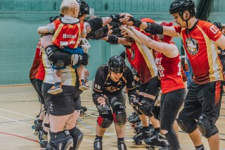 Lotus Photography Bournemouth Dorset Knobs Roller Derby Sports Phtoography 533