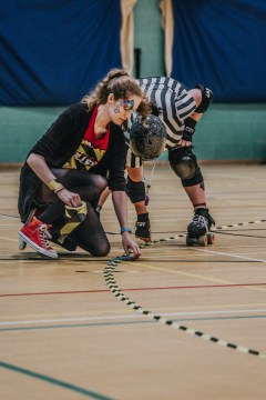 Lotus Photography Bournemouth Dorset Knobs Roller Derby Sports Phtoography 96