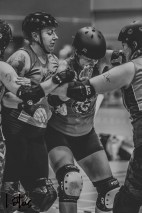 Lotus Phtotography Bournemouth Dorset Roller Girls Roller Derby Sport Photography 10-2
