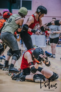 Lotus Phtotography Bournemouth Dorset Roller Girls Roller Derby Sport Photography 100