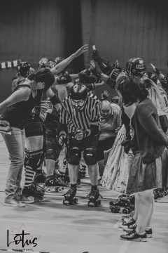 Lotus Phtotography Bournemouth Dorset Roller Girls Roller Derby Sport Photography 111-2