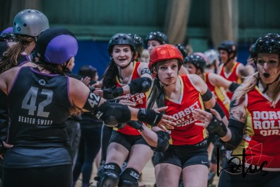 Lotus Phtotography Bournemouth Dorset Roller Girls Roller Derby Sport Photography 126