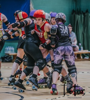 Lotus Phtotography Bournemouth Dorset Roller Girls Roller Derby Sport Photography 131