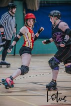 Lotus Phtotography Bournemouth Dorset Roller Girls Roller Derby Sport Photography 139