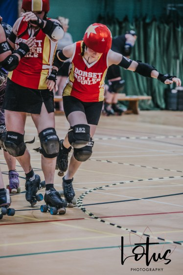 Lotus Phtotography Bournemouth Dorset Roller Girls Roller Derby Sport Photography 144