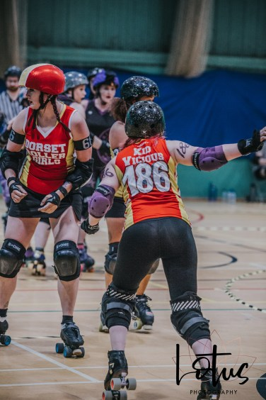 Lotus Phtotography Bournemouth Dorset Roller Girls Roller Derby Sport Photography 152