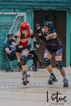 Lotus Phtotography Bournemouth Dorset Roller Girls Roller Derby Sport Photography 154
