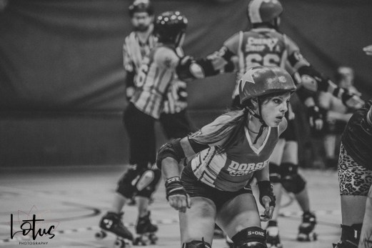 Lotus Phtotography Bournemouth Dorset Roller Girls Roller Derby Sport Photography 155-2