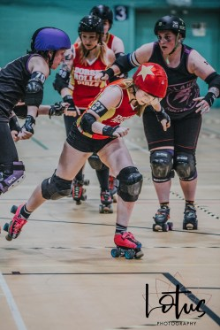 Lotus Phtotography Bournemouth Dorset Roller Girls Roller Derby Sport Photography 159