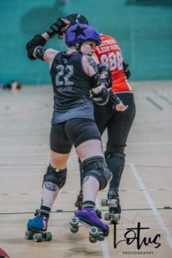 Lotus Phtotography Bournemouth Dorset Roller Girls Roller Derby Sport Photography 162