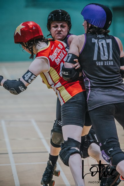 Lotus Phtotography Bournemouth Dorset Roller Girls Roller Derby Sport Photography 164