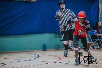 Lotus Phtotography Bournemouth Dorset Roller Girls Roller Derby Sport Photography 18