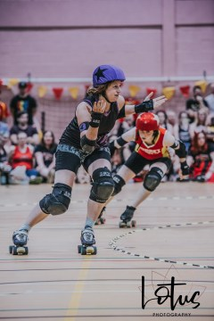 Lotus Phtotography Bournemouth Dorset Roller Girls Roller Derby Sport Photography 180