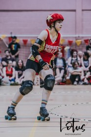 Lotus Phtotography Bournemouth Dorset Roller Girls Roller Derby Sport Photography 181