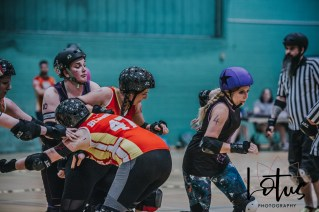 Lotus Phtotography Bournemouth Dorset Roller Girls Roller Derby Sport Photography 211