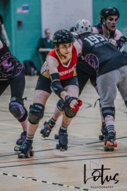 Lotus Phtotography Bournemouth Dorset Roller Girls Roller Derby Sport Photography 218