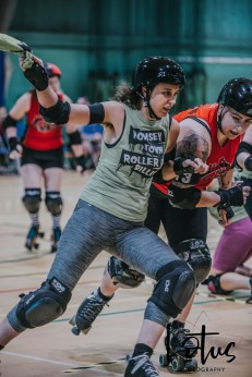 Lotus Phtotography Bournemouth Dorset Roller Girls Roller Derby Sport Photography 23