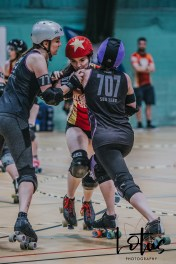 Lotus Phtotography Bournemouth Dorset Roller Girls Roller Derby Sport Photography 239
