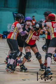 Lotus Phtotography Bournemouth Dorset Roller Girls Roller Derby Sport Photography 245