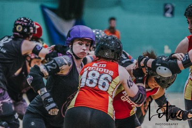 Lotus Phtotography Bournemouth Dorset Roller Girls Roller Derby Sport Photography 246