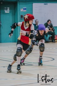 Lotus Phtotography Bournemouth Dorset Roller Girls Roller Derby Sport Photography 249