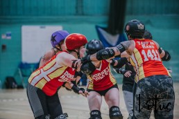 Lotus Phtotography Bournemouth Dorset Roller Girls Roller Derby Sport Photography 250