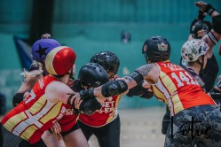 Lotus Phtotography Bournemouth Dorset Roller Girls Roller Derby Sport Photography 252