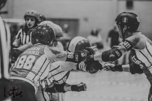 Lotus Phtotography Bournemouth Dorset Roller Girls Roller Derby Sport Photography 253-2