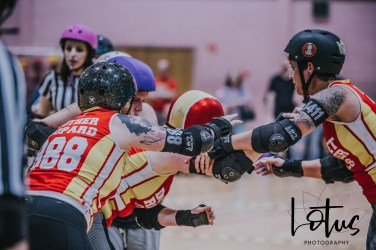 Lotus Phtotography Bournemouth Dorset Roller Girls Roller Derby Sport Photography 253