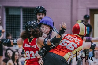 Lotus Phtotography Bournemouth Dorset Roller Girls Roller Derby Sport Photography 265