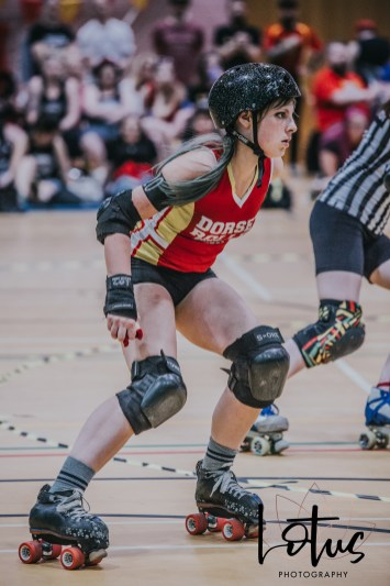 Lotus Phtotography Bournemouth Dorset Roller Girls Roller Derby Sport Photography 267