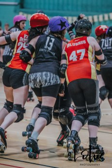 Lotus Phtotography Bournemouth Dorset Roller Girls Roller Derby Sport Photography 276