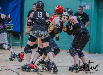 Lotus Phtotography Bournemouth Dorset Roller Girls Roller Derby Sport Photography 279
