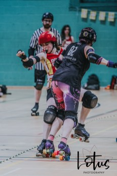 Lotus Phtotography Bournemouth Dorset Roller Girls Roller Derby Sport Photography 280