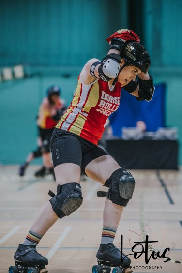 Lotus Phtotography Bournemouth Dorset Roller Girls Roller Derby Sport Photography 284
