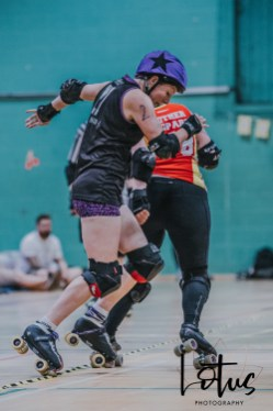 Lotus Phtotography Bournemouth Dorset Roller Girls Roller Derby Sport Photography 289