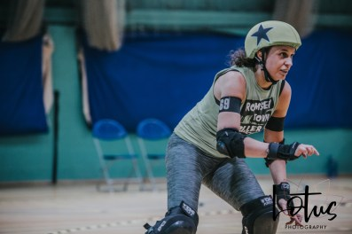 Lotus Phtotography Bournemouth Dorset Roller Girls Roller Derby Sport Photography 29