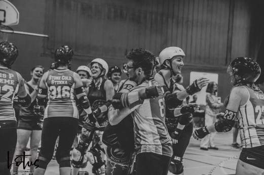 Lotus Phtotography Bournemouth Dorset Roller Girls Roller Derby Sport Photography 310-2