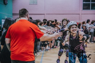 Lotus Phtotography Bournemouth Dorset Roller Girls Roller Derby Sport Photography 315