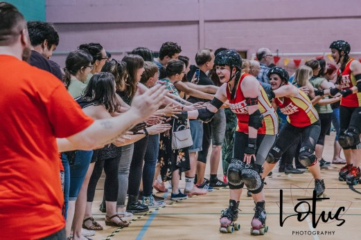 Lotus Phtotography Bournemouth Dorset Roller Girls Roller Derby Sport Photography 324