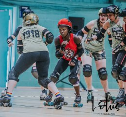 Lotus Phtotography Bournemouth Dorset Roller Girls Roller Derby Sport Photography 34