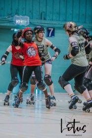 Lotus Phtotography Bournemouth Dorset Roller Girls Roller Derby Sport Photography 35