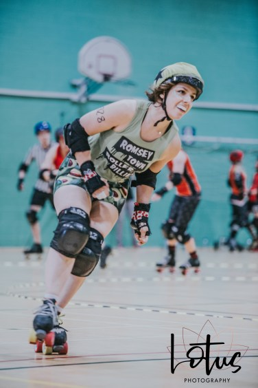 Lotus Phtotography Bournemouth Dorset Roller Girls Roller Derby Sport Photography 38