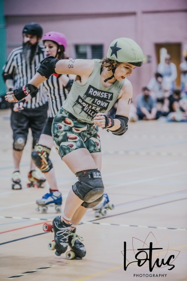 Lotus Phtotography Bournemouth Dorset Roller Girls Roller Derby Sport Photography 60