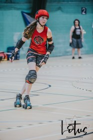 Lotus Phtotography Bournemouth Dorset Roller Girls Roller Derby Sport Photography 63
