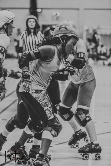 Lotus Phtotography Bournemouth Dorset Roller Girls Roller Derby Sport Photography 66-2