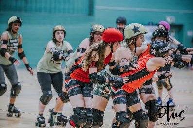 Lotus Phtotography Bournemouth Dorset Roller Girls Roller Derby Sport Photography 72